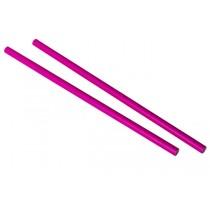 Pink Paper Straw 9 Inch