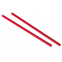 Red Paper Straw 9 Inch