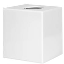 Cube Tissue Holder White