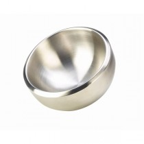 Stainless Steel Double Walled Dual Angle Bowl 24cm