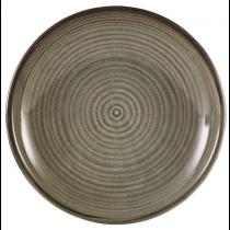 Terra Porcelain Grey Deep Coupe Plate 21cm