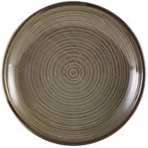 Terra Porcelain Grey Deep Coupe Plate 28cm