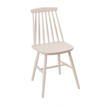 Fameg Farmhouse Angled Sidechair White