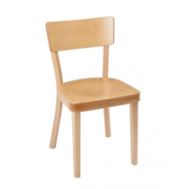 Fameg Plain Sidechairs Natural Beech
