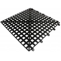 Interlocking Bar Drip Mat Black