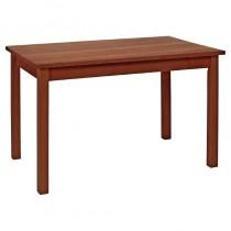 Wooden Rectangular Dining Table Walnut Finish 1220mm