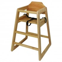 Wooden Highchair Natural