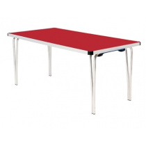Gopak Folding Table Red 6ft