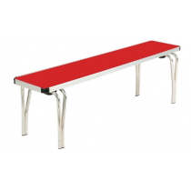 Gopak Stacking Bench Red 4ft