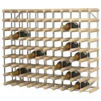 Wooden Wine Rack 90 Bottle