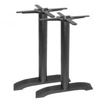 Bolero Cast Iron Twin Leg Table Base