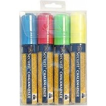 Liquid Chalk Markers 4 Colours Large