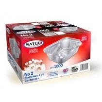 Satco Aluminium Foil Container No.2