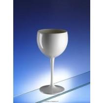 Premium Unbreakable Balloon Wine Glasses White 14oz / 400ml