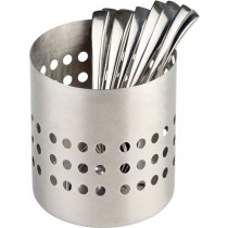 Stainless Steel Matt Finish Cutlery Basket 10cm