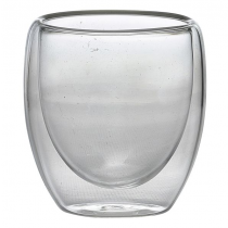 Double Walled Espresso Glass 10cl 3.5oz