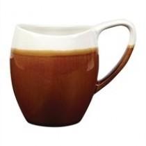 Churchill Monochrome Bulb Mug Cinnamon Brown 36cl