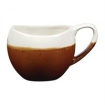Churchill Monochrome Bulb Cup Cinnamon Brown 30cl