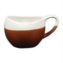 Churchill Monochrome Bulb Cup Cinnamon Brown 24cl