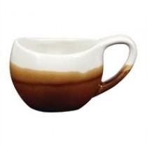 Churchill Monochrome Espresso Bulb Cup Cinnamon Brown 7cl