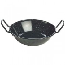 Black Enamel Dish 18cm