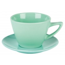 Simply Economy Spectrum Green 16cm Double Well Saucer