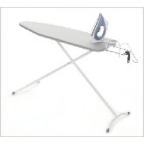 Floor Standing Ironing Board with Motion Switch Steam Iron
