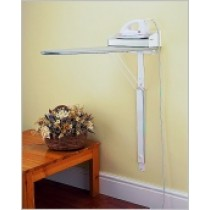 Wall Mounted Ironing Board with Dry Iron