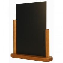 Table Chalk Board Teak 21 x 30cm