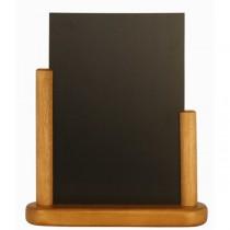 Table Chalk Board Teak 15 x 21cm