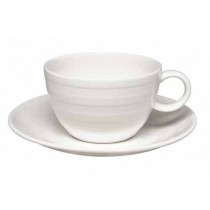 Elia Essence Premier Bone China Tea Cup Saucer 17.5cm