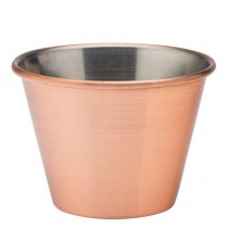 Copper Plated Ramekin 2.5oz / 8cl