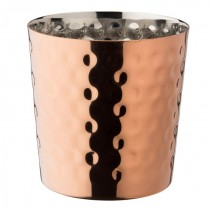 Copper Hammered Cup 9cm