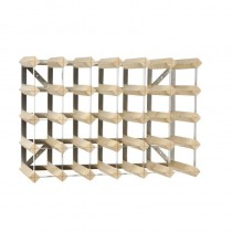 Wooden Wine Rack 30 Bottle