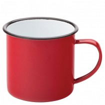 Eagle Enamel Red Mug 38cl 13.5oz