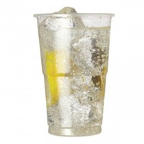 10oz Clear Plastic Disposable Flexy Tumbler 10oz CE- 1000 Pack