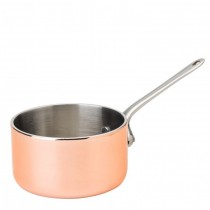 Copper Mini Presentation Saucepan 7.5cm