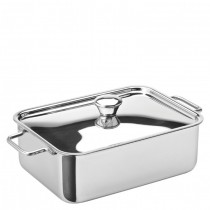 Stainless Steel Rectangular Roasting Dish Lid