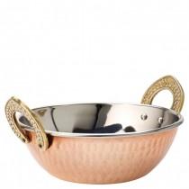 Copper Kadai Dish 15cm