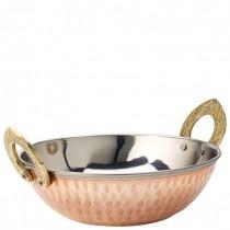 Copper Kadai Dish 16.5cm