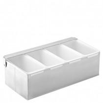 Condiment Dispenser 4 Compartments