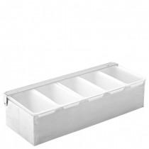Condiment Dispenser 5 Compartments
