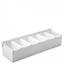 Condiment Dispenser 6 Compartments
