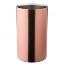 Double-Walled Wine Cooler Copper 20 x 11.5cm