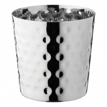 Stainless Steel Hammered Cup 39cl 13.75oz
