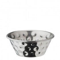 Stainless Steel Hammered Ramekin 1.5oz / 4cl