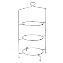 Utopia Savoy 3 Tier Cake Plate Stand 18inch / 46cm