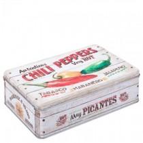 Retro Chilli Box 23 x 16cm