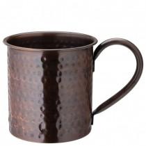 Hammered Aged Copper Mug 19oz/54cl