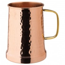 Hammered Copper Tankard 21oz/60cl